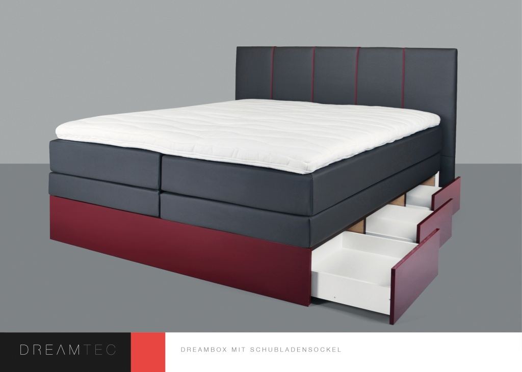 dreamtec dreambox luxus boxspringbetten made in germany. Black Bedroom Furniture Sets. Home Design Ideas